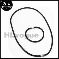 Buy cheap Popular Stainless Steel Jewelry Mesh Sets Wholesale black necklace&bracelet from wholesalers