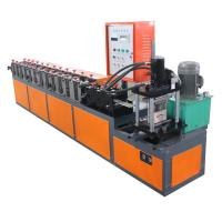 Buy cheap Chain Transmission Metal Shutter Door Forming Machine 5.5KW Rolling Shutter Machine from wholesalers