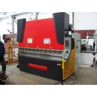 Buy cheap WC67Y 125T Custom-designed Hydraulic CNC Press Brake Machine With Cnc Control System from wholesalers