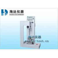 China Plastic Material Charpy Impact Testing Machine for Testing the Fastness 15 - 35°C HD-1008A on sale