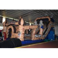 Buy cheap Egyptian Pharaoh Themed Commercial Inflatable Water Slides Long And High For 3 - 15 Years Old Children from wholesalers