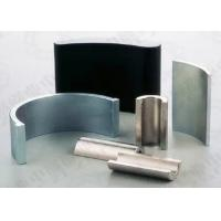 Buy cheap High Powered Neodymium Arc Magnets NdFeB Rare Earth Metal Magnet N52 from wholesalers