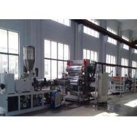 Buy cheap PP PE PVC Plastic Sheet Extrusion Line Plastic Sheet  / Board Extrusion Machine from wholesalers