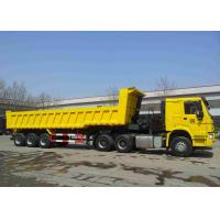 Buy cheap 40 Tons Loading Heavy Duty Semi Trailers / Heavy Duty Dump Truck 28T Support Leg from wholesalers