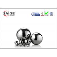 Buy cheap Solid large chrome steel sphere G10 AISI 52100 1/2'' inch diameter product