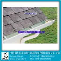 Buy cheap Gary asphalt shingle with seamless rain gutter from wholesalers