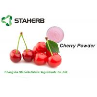 Buy cheap Faint Red Dehydrated Cherry Juice PowderConcentrated Original Fresh Flavor from wholesalers