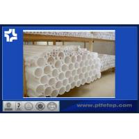 Buy cheap Natural Color Pressed Ptfe Teflon Tube Soft With High Anti-corrosion from wholesalers