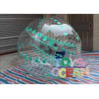 Buy cheap Green Dot Inflatable Sumo Soccer Balls / Bubble Football / Water Zorb Ball With Color from wholesalers