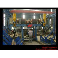 Buy cheap H Beam Fabrication Welding Equipment / Auto Saw Welder For Flange And Web Welding Seam from wholesalers