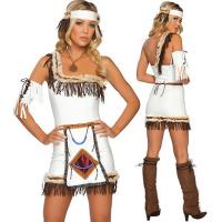 Buy cheap Native American Mistress Party Adult Costumes / Funny Halloween Costumes from wholesalers