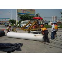 Buy cheap Environment Renewable Pavement Overlay Waterproof Polyester Fabric underlayment from wholesalers