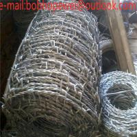 Buy cheap barbed wire roll length/how much is a roll of barbed wire/how to install barbed wire/ barbed wire fence gate/barbed wire from wholesalers