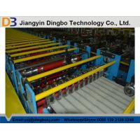 Buy cheap Corrugated Steel Roofing Roll Forming Machine with 3kw Hydraulic Motor Power from wholesalers