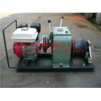 Buy cheap Cable Drum Winch,Cable pulling winch,cable feeder from wholesalers
