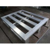 Buy cheap Nonflammable Moistureproof Aluminum Pallets for Wrapping Racking Storage from wholesalers