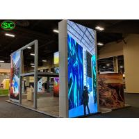 Buy cheap P6 1R1G1B LED Screen Panel for Indoor , Flexible LED Curtain Display from wholesalers