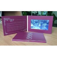 Buy cheap High resolution digital birthday cards , 2.4 / 4.3 / 5 / 7 video business cards from wholesalers