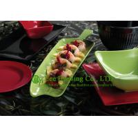 Buy cheap Eco-friendly Bamboo Fiber Tableware, Bamboo Fiber Plate Manufactuer In China, Leaf-shaped from wholesalers