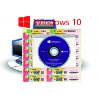 Buy cheap Win 10 Pro COA Sticker Multi Language  Customizable and Working Serial Key from wholesalers