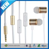 Buy cheap Universal Metal Headphone or Earphone Tangle 3.5mm Plug Mic For Iphone 6 from wholesalers
