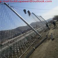 Buy cheap SNS chain link fencing reinforcing meshes/SNS rockfall protecion system construction steel wire rope mesh from wholesalers