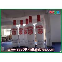 Buy cheap Advertising 3 - 6m Inflatable Wine Bottle With Logo Printing from wholesalers