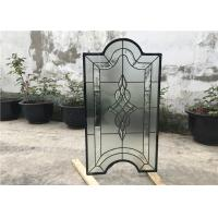 Buy cheap Tinted Custom Cabinet Doors Glass , Clear Decorative Glass Inserts For Cabinet Doors from wholesalers
