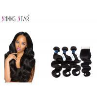 No Lice Virgin Brazilian Remy Hair Body Wave , 9A Long Body Wave Weave