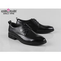 Buy cheap Senior Executive Fashionable Mens Dress Shoes Italy Style 2.8CM Hell Height from wholesalers