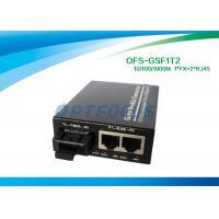 10 / 100 / 1000M Half Duplex rj45 Switch Fiber Optic Cat. 5 UTP cable without module