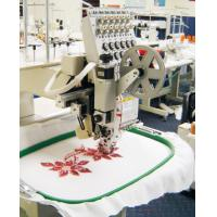 Buy cheap baseball hat 12 needle 1 head Sequin Embroidery Machine , 1200SPM 3.5 LCD from wholesalers