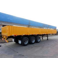 Buy cheap Multifunction Cargo Transport 3 Axle 40Ton Side Wall Semi Trailer from wholesalers