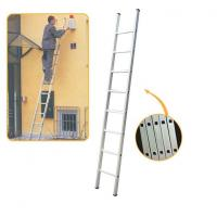 Buy cheap hot sale Aluminium Single Straight Ladder used in construction from wholesalers