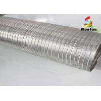 Buy cheap Hydroponic Semi Rigid Ducting Aluminum Fire Proof 0.1mm Thickness from wholesalers