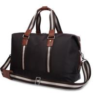 Buy cheap Personalized Luxury Travel Duffel Bags for Men with Leather Handles from wholesalers