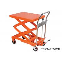 Compact Structure Mobile Hydraulic Lifting Table With Electrical Controlling System