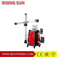 Buy cheap Full Automatic 3D Camera Wheel Alignment Machine for Car Service Station from wholesalers