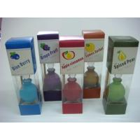 Buy cheap pumpkin glass reed diffuser gift set from wholesalers