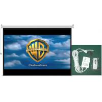 Buy cheap 72-200inch motorized projection screen With Remote from wholesalers