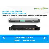 Buy cheap ISDB T Digital TV Modulator With Adaptive Linear and Nonlinear Digital Pre - distortion from wholesalers