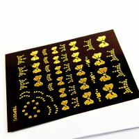 Buy cheap Golden Finger Nail Sticker Safe Non-Toxic For For Adult / Kids Fingers from wholesalers