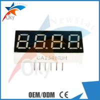 Buy cheap 4-Digit 0.56 7-Segment Color Electronic Components Red LED Display Common Anode Module from wholesalers