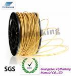 Buy cheap Gold Nylon Filament 1.75mm / 3mm For Polyethylene 3d Printer from wholesalers