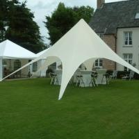 Buy cheap White Outdoor star pop up tent canopy Wedding sun shade with Carbon Fiber pole from wholesalers