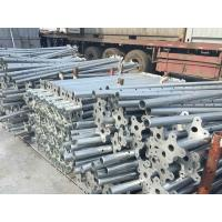 Buy cheap Hot dipped Adjustable steel props system galvanized formwork steel Shoring prop from wholesalers