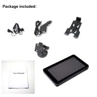 Buy cheap Micro SD 8GB GPS Car Navigation System , 480X272 5 Inch TFT LCD product