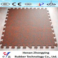 Buy cheap Indoor/outdoor rubber tile rubber paver interlocking rubber tile from wholesalers