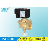 Buy cheap 1 Gas Solenoid Valve 24V  48V Normal Closed Flow Adjustable Quick Close off from wholesalers
