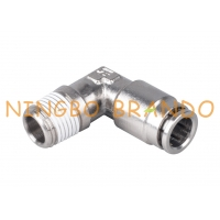 Buy cheap Brass Male 90 Degree Elbow Pneumatic Hose Fittings 1/8'' 1/4'' 3/8'' 1/2'' from wholesalers